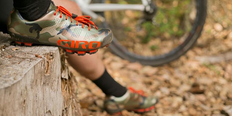 Giro's Camo Empire MTB Shoe
