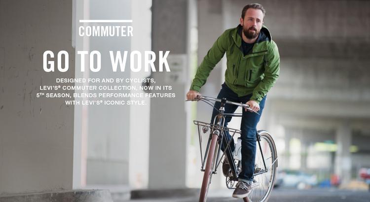 Levi's® Commuter Collection Lookbook