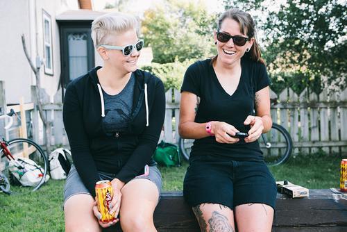 Anna and Christina