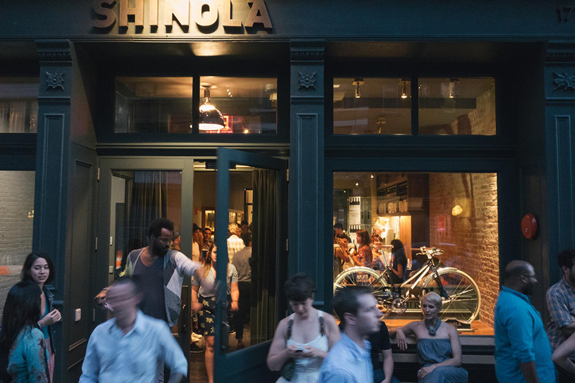 Shinola pop up