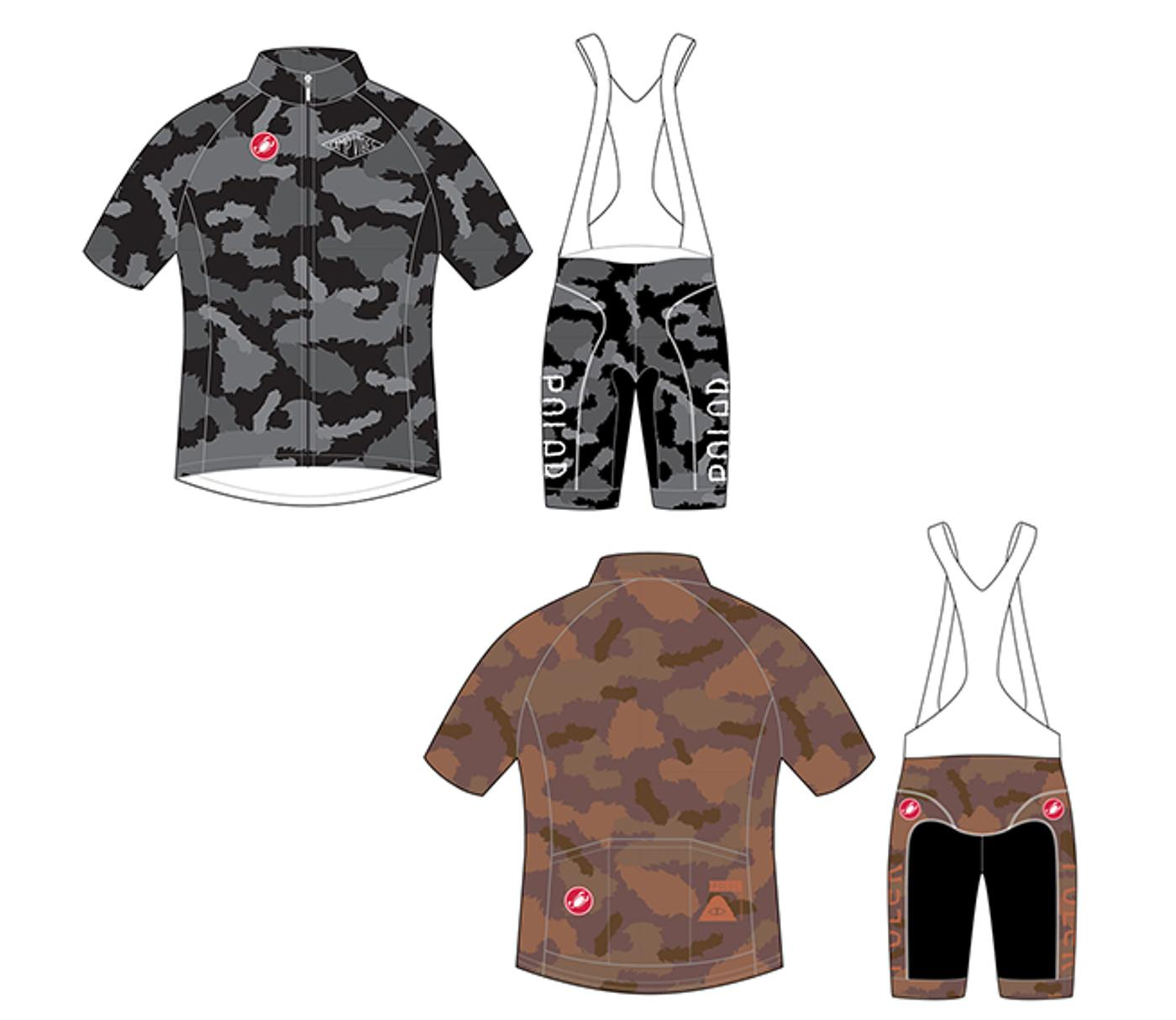 Poler Furry Camo Cycling Kit by Castelli Pre-Order