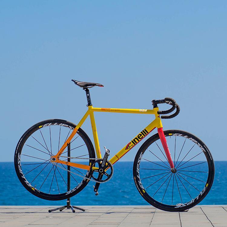 The 2013 Red Hook Crit Barcelona Cinelli 824 Prize Track Bike