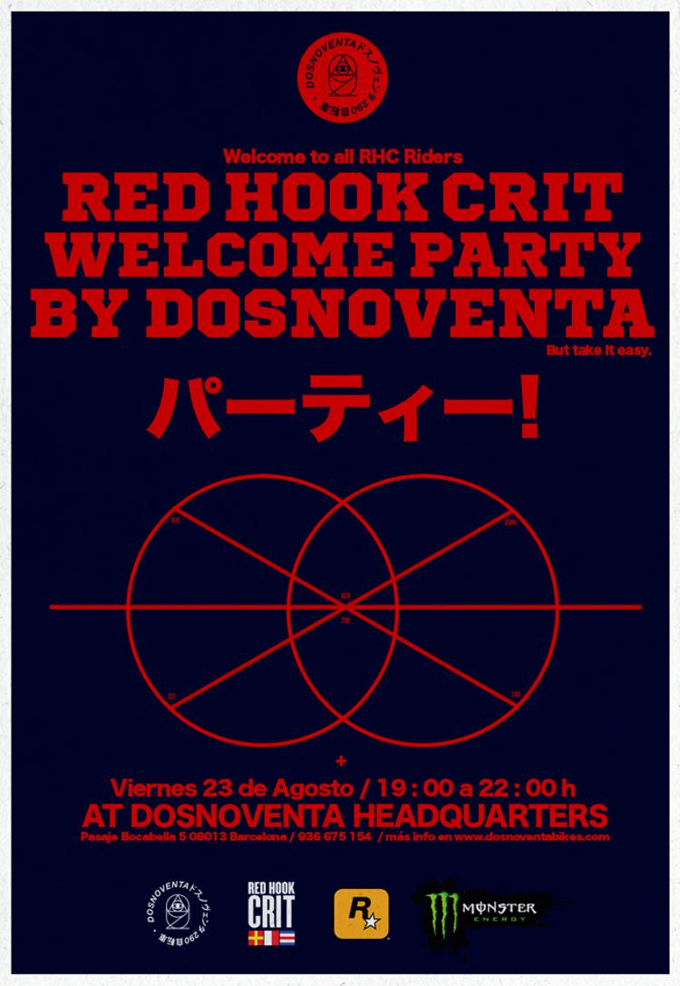 Dosnoventa: New Headquarters and Red Hook Crit Welcome Party