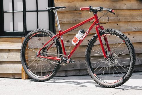 Beautiful Bicycle: Seth Rosko's 650b Single Speed MTB