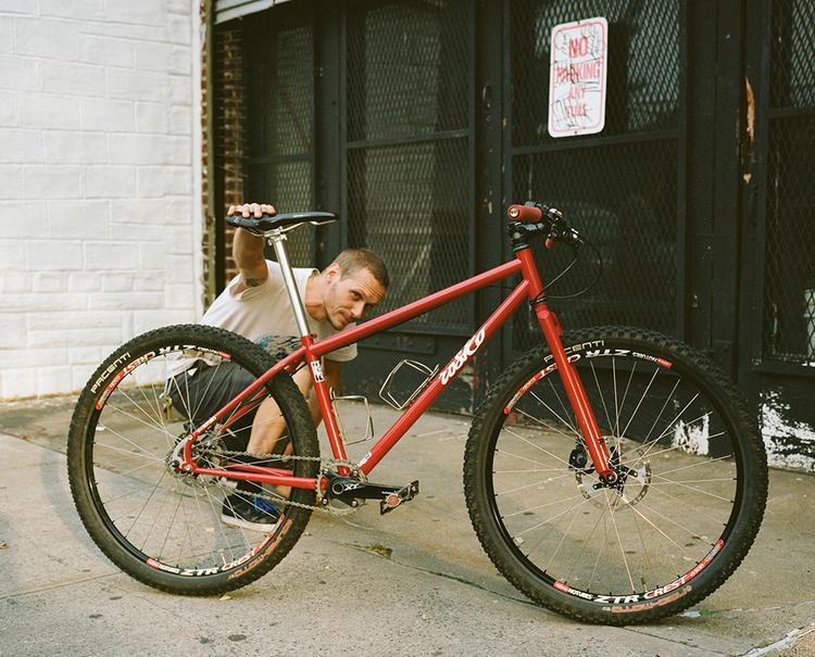 Seth and His Rosko 650B MTB