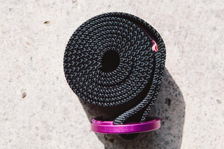 Purple Topo Designs Black Web Belt