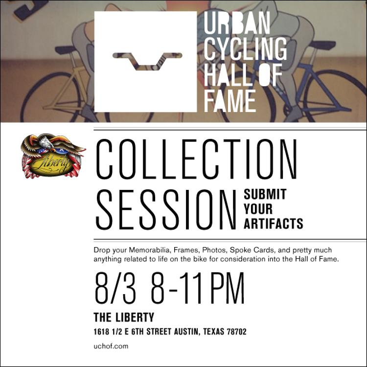 Urban Cycling Hall of Fame Collection Session in Austin Tonight