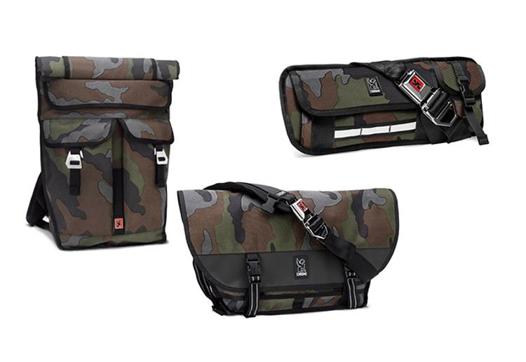 Chrome Introduces a Line of Reflective Camo Bags
