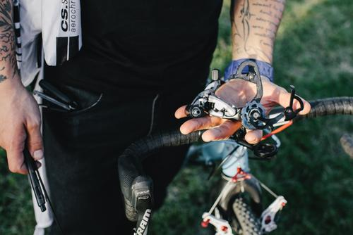 Busted derailleur, shattered dreams