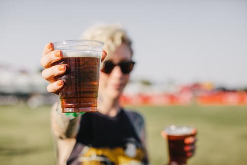 Beer hand ups!