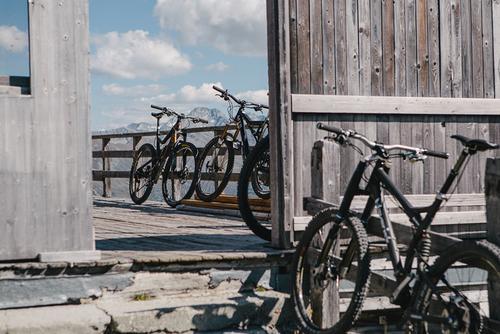 Bikes parked.