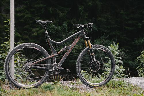 I couldn't have asked for a better bike for this ride. The Santa Cruz Tallboy LTC killed it!