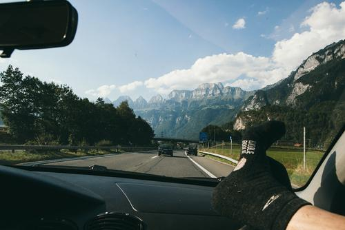 The drive back to Zurich.