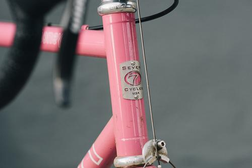 Beautiful Bicycle: Ty's Pink Seven Mudhoney SS Cross