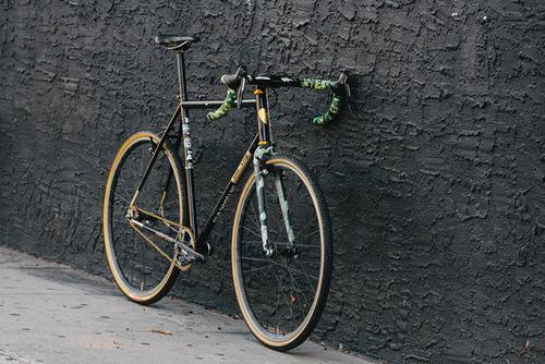 Beautiful Bicycle: Ty's Death Spray Custom All City Nature Boy SSCX