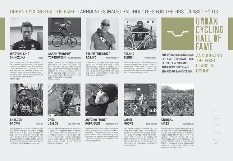 Urban Cycling Hall of Fame: The 2013 List of Inductees