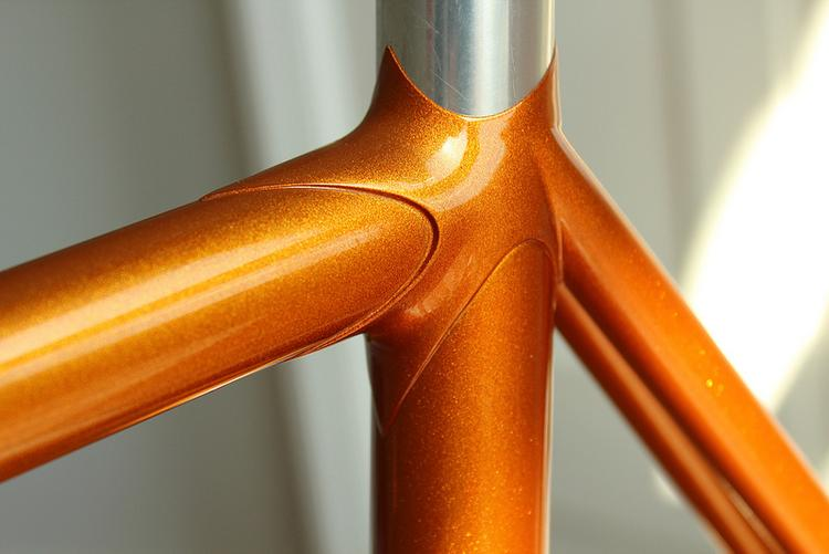 Bishop Bikes: Brian's Track Frame
