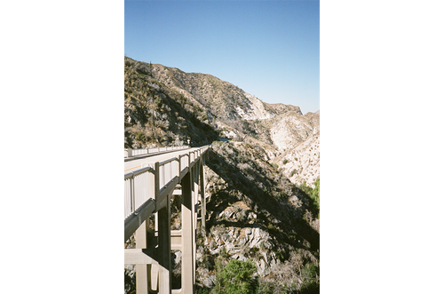 One of the many bridges over the gorge.