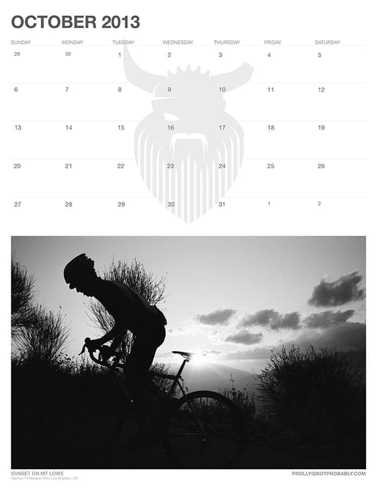 The 2013 PiNP Calendar: October