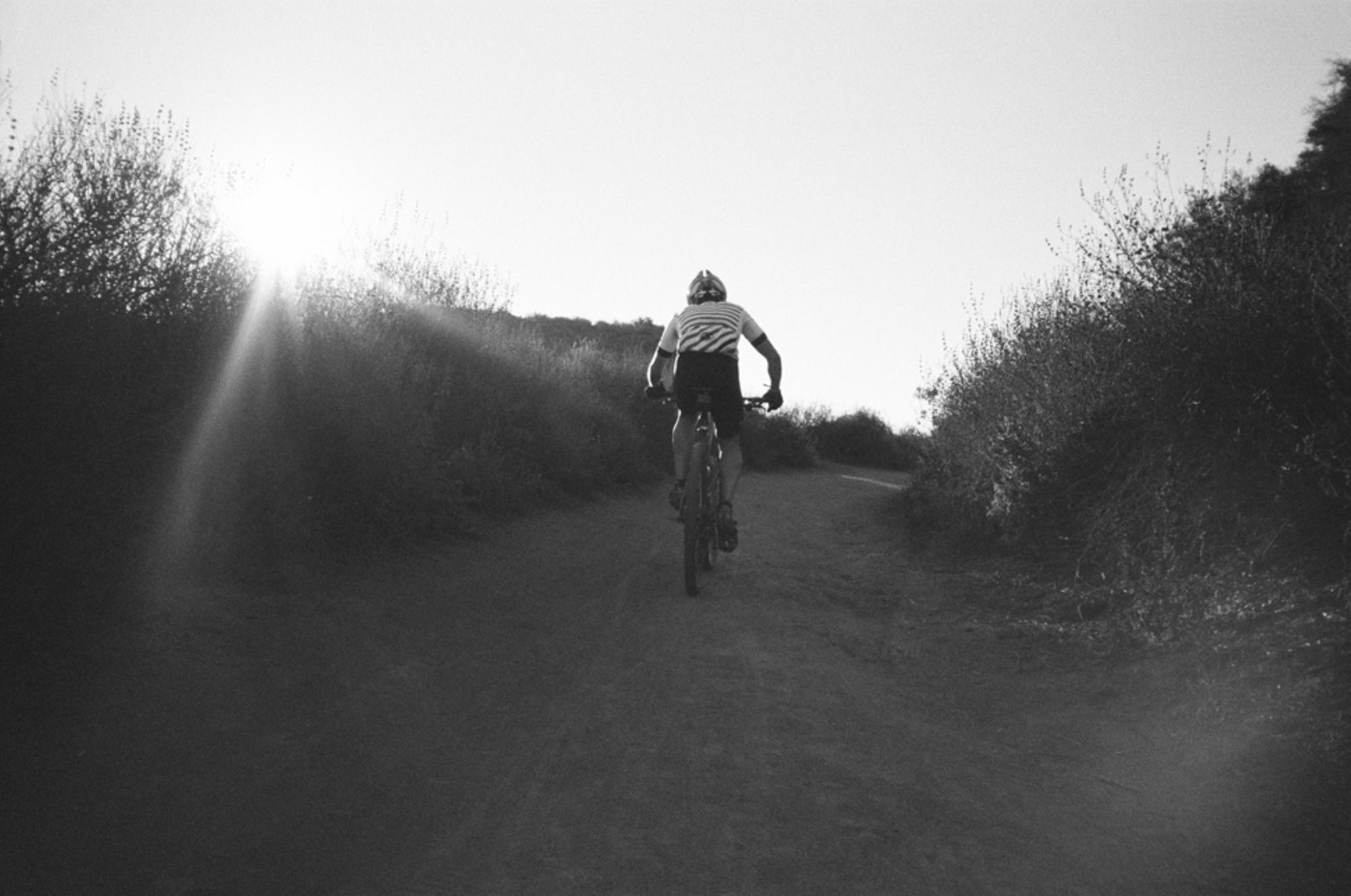 The riding in Topanga was incredible.