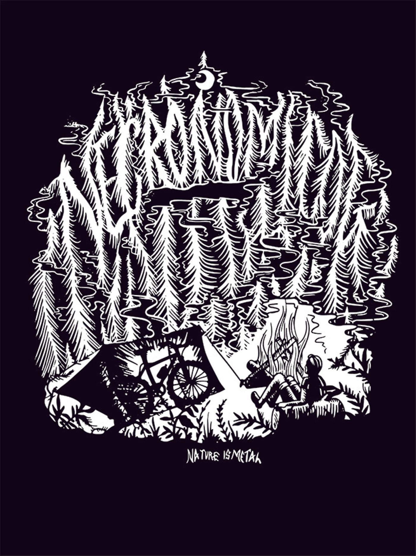 Kyler Martz: Necronomicog Nature is Metal Graphic