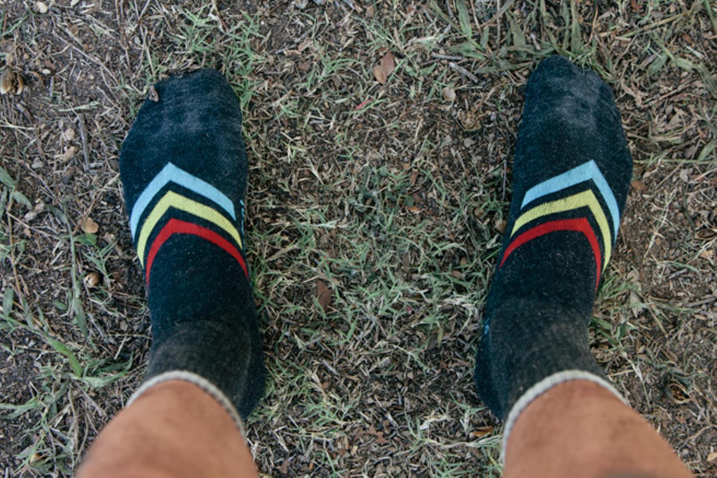 New Strawfoot Chevron Stripe Socks!