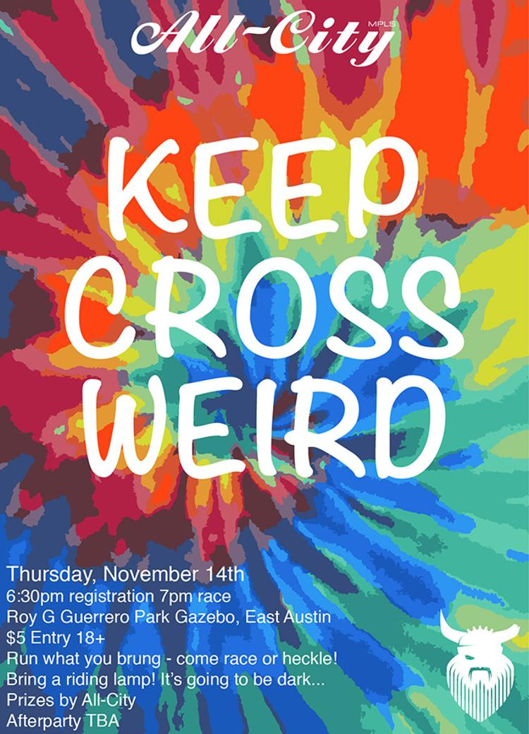 All-City Cycles and PiNP Present: Keep Cross Weird