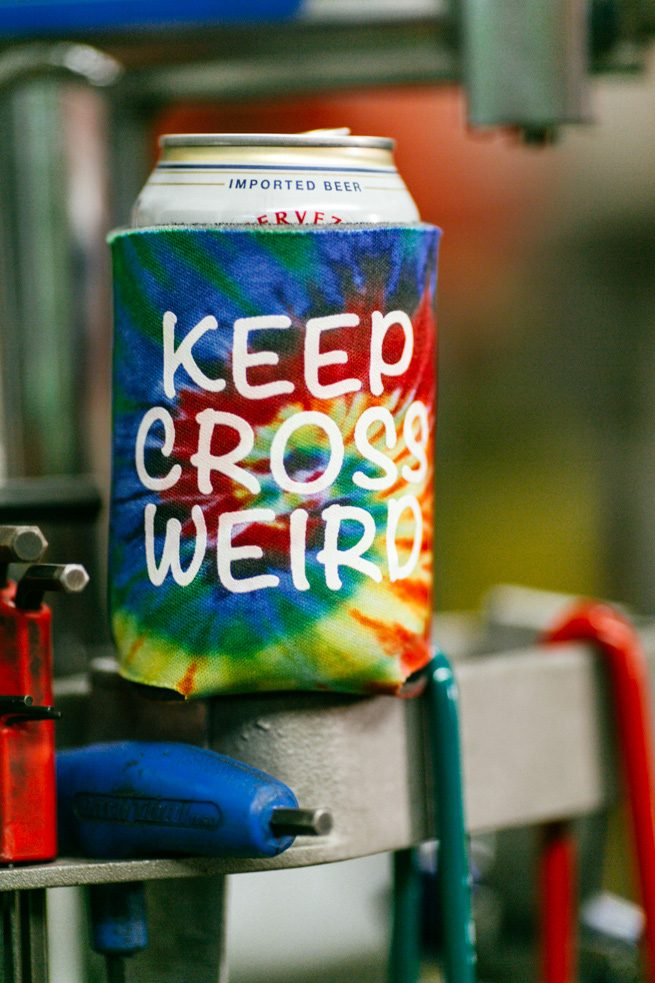 KeepCrossWeirdCoozie-1