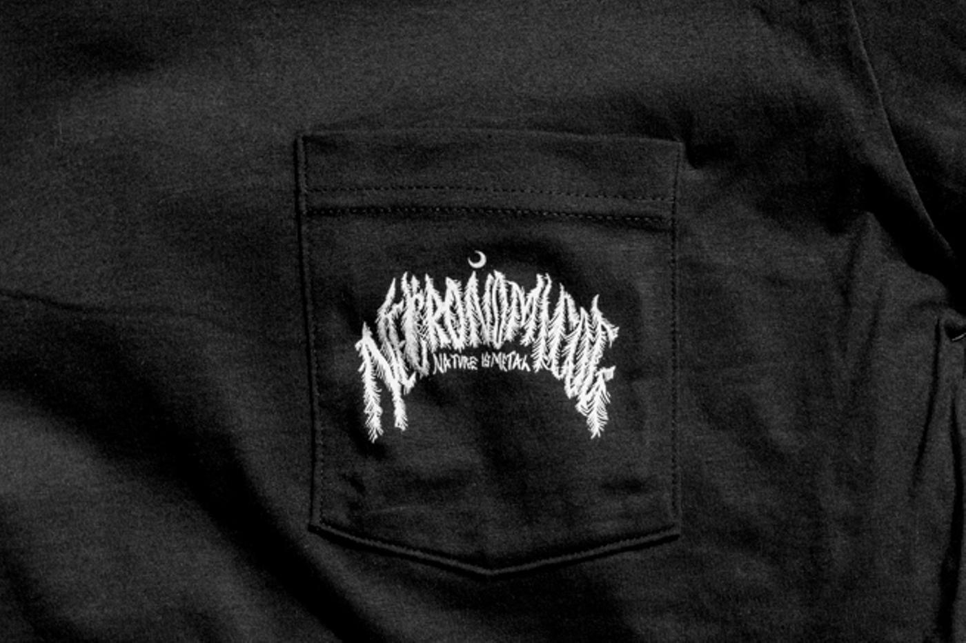 Necronomicog Nature is Metal Pocket T-Shirt Pre-Order