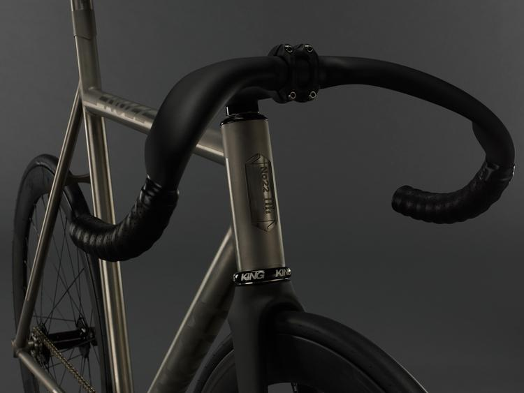 No 22 Little Wing Titanium Track Bike