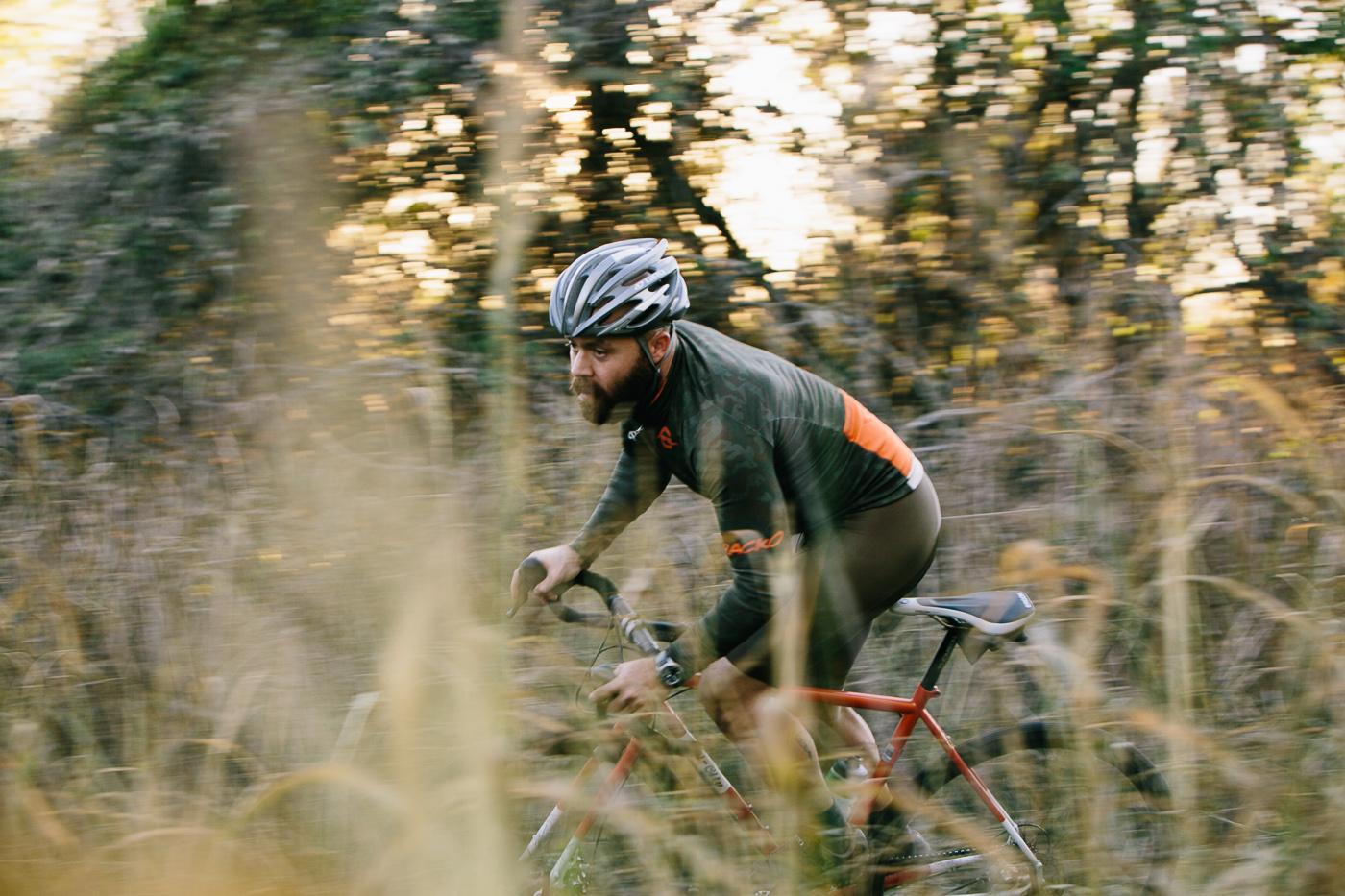 Trackosaurus Rex: Splinter Camo and Dickies Brown Winter Combo Cycling Kit