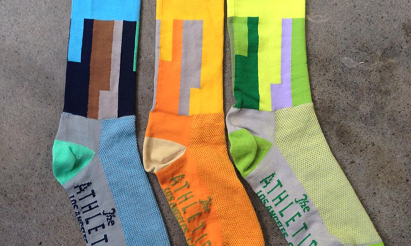 The Athletic: LAX Airport Socks