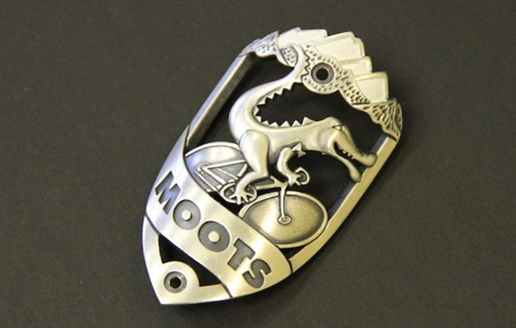 Moots: Limited Edition Mike Cherney Sterling Silver Headbadges
