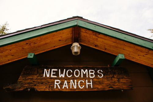 Then, it was off to Newcomb's Ranch for...