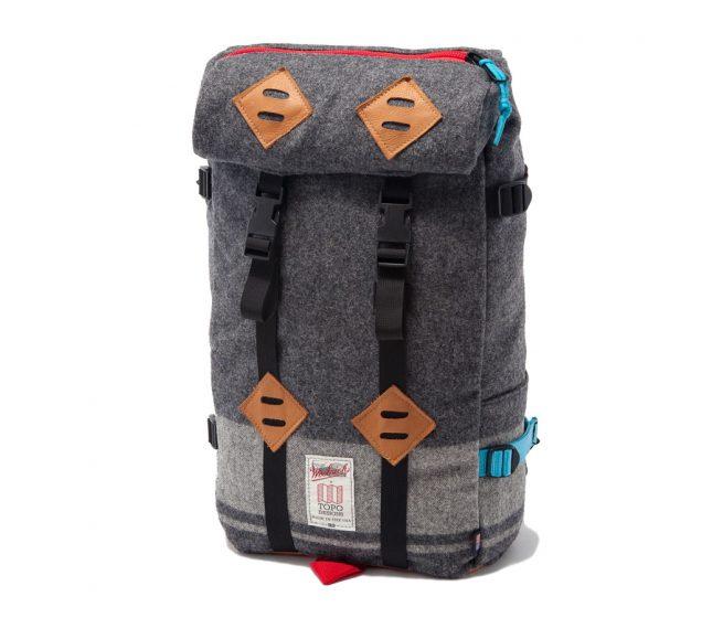 Topo-Woolrich-klettersack