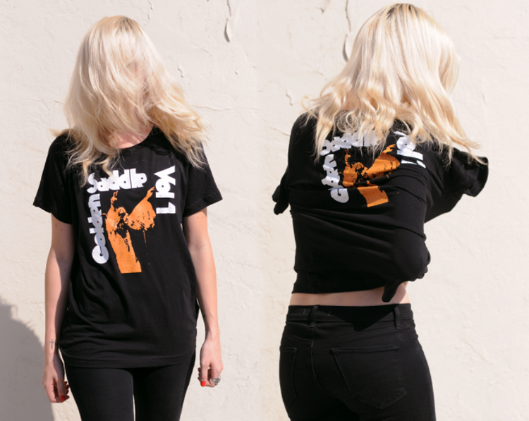 Golden Saddle Cyclery: New Tees
