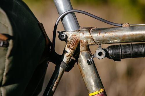 Beautiful Bicycle: Benedict's Trek 970 650b Shred Sled