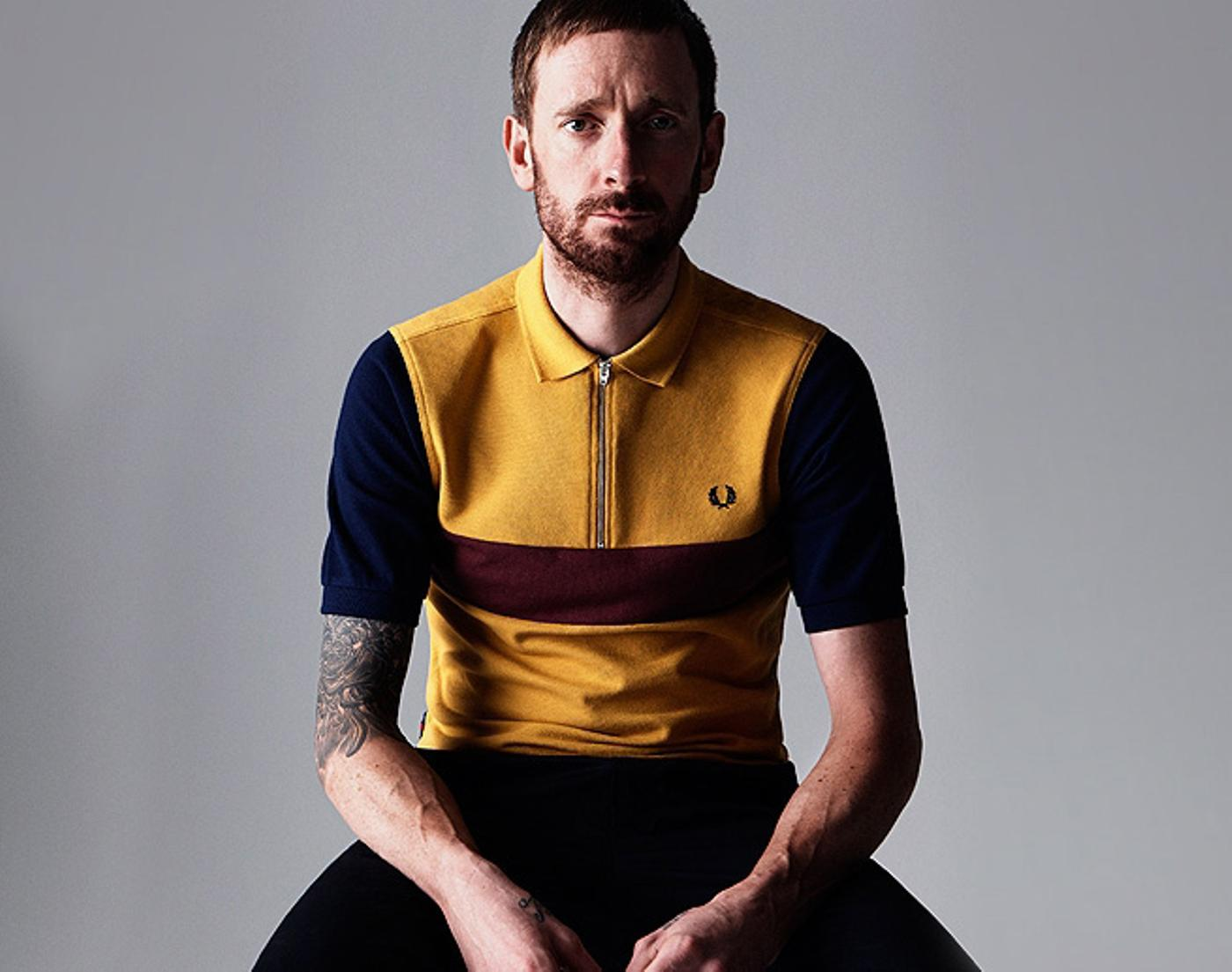 Bradley Wiggins Collection for Fred Perry