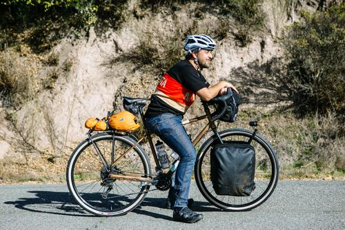 Believe it or not, this was the first time Recep had ridden a bike since the Transcontinental!