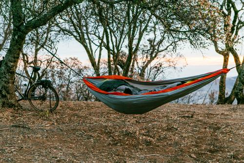 My ENO hammock setup with a Thermarest pad and 40-degree bag was perfect!