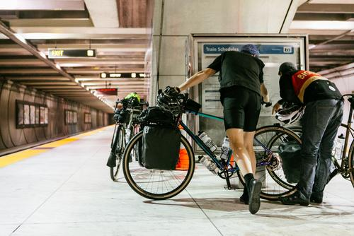 Public transit saves hours of riding in most cases, it gets you out of the city.