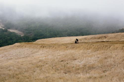 Erik on the lone descent.