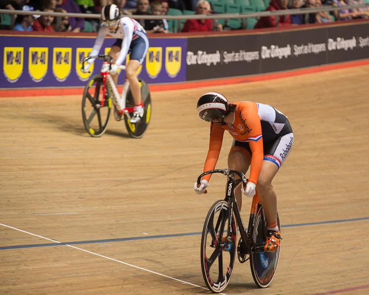 Female Track Racers in Manchester