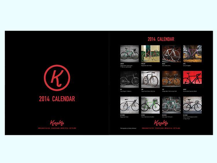 Kinoko Cycles: 2014 Calendar