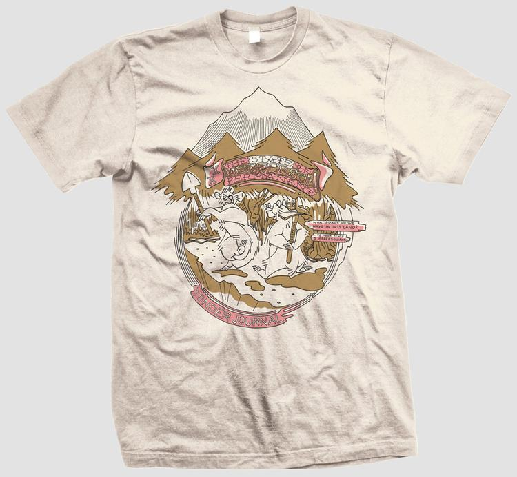Yonder Journal: The Mythical State of Jefferson Permanent Shirt Pre-Order
