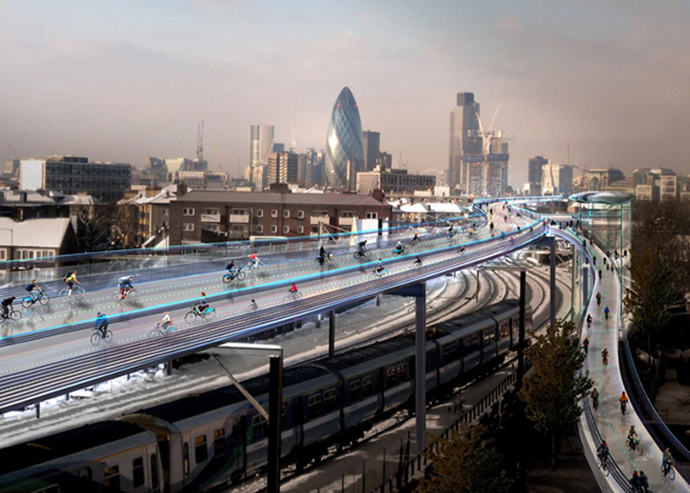 Norman Foster's Vision for a More Cycling-Friendly London