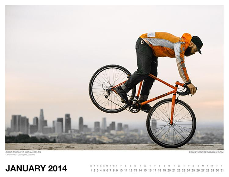 The 2014 PiNP Calendar: January