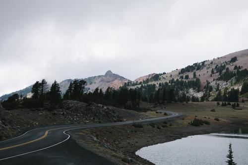 Highway 89 - Lassen Volcanic National Park, CA