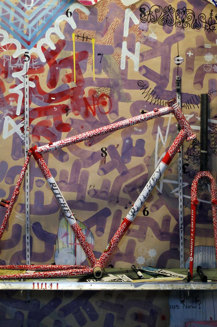 Dustin Klein of Cadence Painted this Ritchey Swiss Cross
