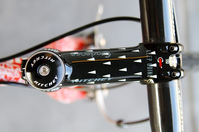Swiss cross stem